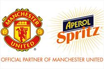 Manchester United signs up trendy liqueur brand Aperol