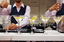 Dita Von Teese-esque giant martini glass takes centre stage for Belvedere Vodka