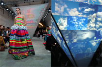 London Fashion Week: Microsoft and Fyodor Golan build catwalk distortion pyramid