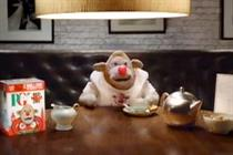 PG Tips' Monkey dons a red nose for Comic Relief in this week's ad chart