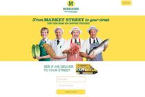 Morrisons launches online food offer as it seeks to bring in-store experience to web