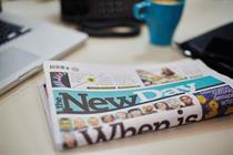 New Day paper closing after nine weeks, BT pledges £6bn investment...and more