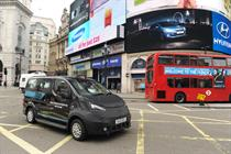 Nissan reinvents London's classic black cab with new models