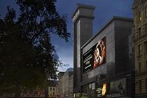 Odeon dominates Leicester Square at film premieres with giant digital screen