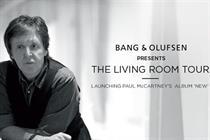 Bang & Olufsen recruits Sir Paul McCartney for relaunch