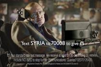 Stephen Hawking gives a voice to children of Syria in Save the Children TV spot