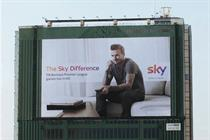 Outdoor Campaign of the Month: Sky Sports