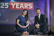 Sky films virtual reality interview between David Beckham and Kirsty Gallagher