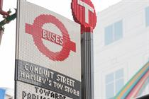 Lego-built bus stop celebrates birthdays of London's buses