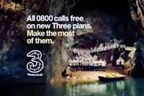 Three TV ad banned over misleading 'free' call claims