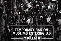 Donald Trump calls for Muslim ban in first campaign TV ad