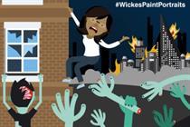Wickes offers to paint any random scenario tweeted under #WickesPaintPortraits
