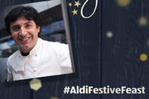 Aldi teams up with chef Jean-Christophe Novelli to create 'luxury' Christmas dinners
