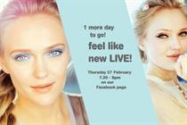 Boots ties up with Facebook for live hair and beauty broadcast