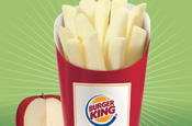 Burger King launches Apple Fries
