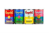 Campbell's to launch Andy Warhol tribute soup cans