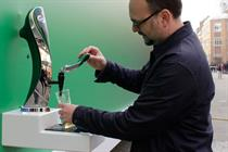 Carlsberg creates 'the best poster in the world' with beer dispensing tap