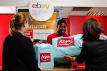 EBay rolls out Click & Collect to further 500 Argos stores