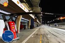 Shell gives a rare view inside the Scuderia Ferrari F1 garage using augmented reality tech