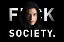 Mr Robot says, 'The future is television'