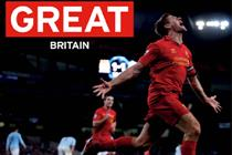 VisitBritain hires Steven Gerrard in extended Premier League deal