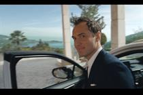Jude Law and Lexus partner for TV spot to promote 'luxury' SUV