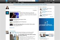 Samsung and Groupon among launch brands for LinkedIn ad network