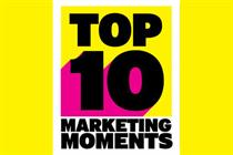 Top 10 marketing moments of 2014