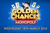 McDonald's launches Golden Chances to celebrate 10-year Monopoly tie-up