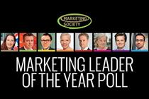 Final week to vote for Marketing Society Leader of the Year 2014