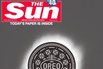 Oreo eclipses The Sun in celestial stunt