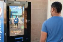 Pepsi Max lets football wannabes play for drinks with interactive vending machines