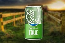 Coca-Cola Life and Pepsi True's green branding devalues the colour's ethical heritage