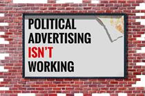Why political advertising doesn't work anymore
