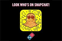 Domino's launches on Snapchat with 'Dough to door' film