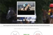 Betfair borrows from Tinder to match horses with punters