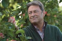 Titchmarsh celebrates 'brilliantly British apples' in Waitrose spot