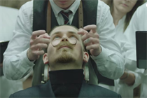 If Carlsberg did Movember... It would use beer as shaving foam