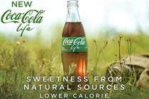 Coca-Cola unveils multimillion-pound ad campaign for Coke Life launch