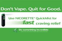 E-cigarette brands Blu and E-lites slam Nicorette 'smear' ad