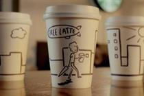 Starbucks gets friendly with animated spot