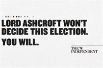 The Independent launches election-themed campaign