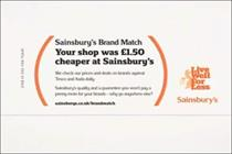 Sainsbury's strapline falls foul of ASA after Tesco complaint