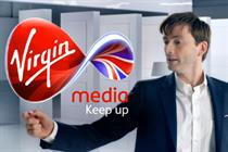 Tennant, Bolt and Branson back for Virgin Media ads