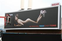 Reebok reveals naked Kelly Brook for outdoor campaign