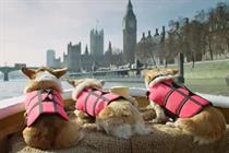 Freeview capitalises on Royal Wedding with corgi ad