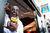 Greggs uses zombies in digital campaign for Halloween promo