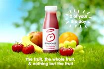 Innocent in ad drive for smoothies