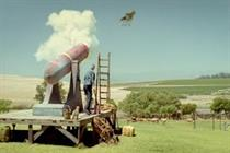 Yazoo launches £4.5m 'flying cow' TV spot
