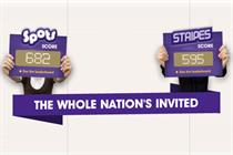 Cadbury £6.5m Spots v Stripes campaign takes off